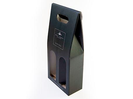 Die cut wine box created by Allround Packaging